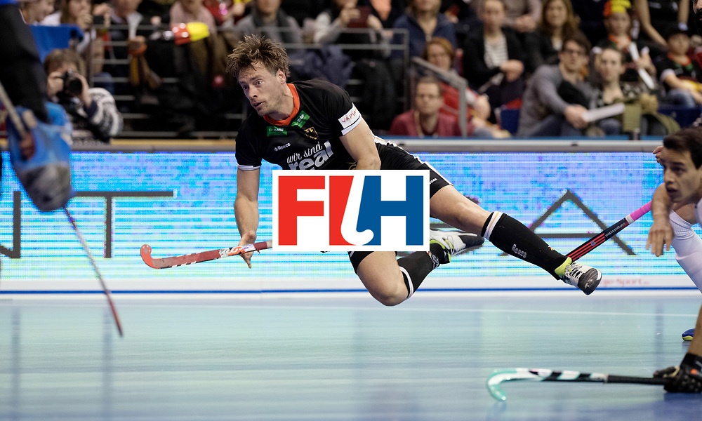 BERLIN - Indoor Hockey World Cup<br /> Semi-final 1: Germany - Iran<br /> foto: Alexander Otte.<br /> WORLDSPORTPICS COPYRIGHT FRANK UIJLENBROEK