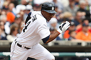 April 29, 2010:  Detroit Tigers' Austin Jackson (14) during the MLB baseball game between the Minnesota Twins vs Detroit Tigers at  Comerica Park in Detroit, Michigan.