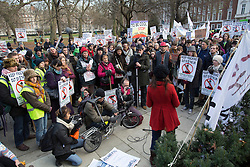© licensed to London News Pictures. London, UK 01/12/2012. Protesters gathering outside the US Embassy in Grosvenor Square, London to protest against the Keystone XL pipeline being built to transport Canadian Tar Sands oil to the US. Photo credit: Tolga Akmen/LNP