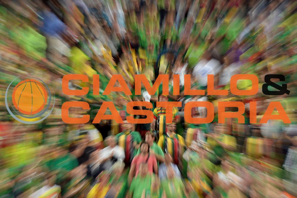 DESCRIZIONE : Lubiana Ljubliana Slovenia Eurobasket Men 2013 Finale Final Francia France Lituania Lithuania<br /> GIOCATORE : Tifosi<br /> CATEGORIA : Tifosi<br /> SQUADRA : Lituania Lithuania<br /> EVENTO : Eurobasket Men 2013<br /> GARA : Francia France Lituania Lithuania<br /> DATA : 22/09/2013 <br /> SPORT : Pallacanestro <br /> AUTORE : Agenzia Ciamillo-Castoria/Max.Ceretti<br /> Galleria : Eurobasket Men 2013<br /> Fotonotizia : Lubiana Ljubliana Slovenia Eurobasket Men 2013 Finale Final Francia France Lituania Lithuania<br /> Predefinita :