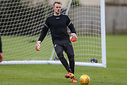 Forest Green Rovers goalkeeper Lewis Ward(34) at Stanley Park, Chippenham, United Kingdom on 14 January 2019.