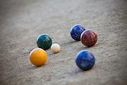 A Set of Bocce Balls