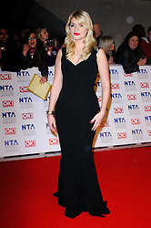 Holly Willoughby at the National Television Awards held in London on Wednesday, 25th January 2012. Photo by: i-Images