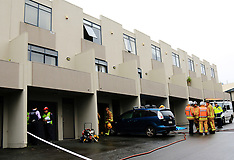 Auckland-Fatal fire in Panmure apartment