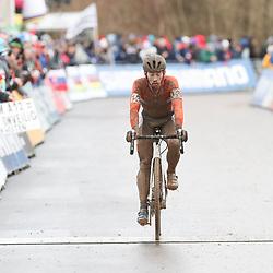 29-01-2017: Wielrennen: Wereldkampioenschap veldrijden: Luxemburg<br /> BIELES (LUX) cyclocross     <br /> Lars van der Haar werd vierde