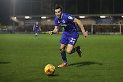 AFC Wimbledon defender Sean Kelly (22) during the EFL Sky Bet League 1 match between AFC Wimbledon and Coventry City at the Cherry Red Records Stadium, Kingston, England on 14 February 2017. Photo by Stuart Butcher.