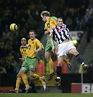Fotball<br /> England 2004/2005<br /> Foto: SBI/Digitalsport<br /> NORWAY ONLY<br /> <br /> Gary Doherty scores<br /> <br /> Norwich City v West Bromwich Albion, Barclays Premiership. <br /> <br /> 05/02/2005