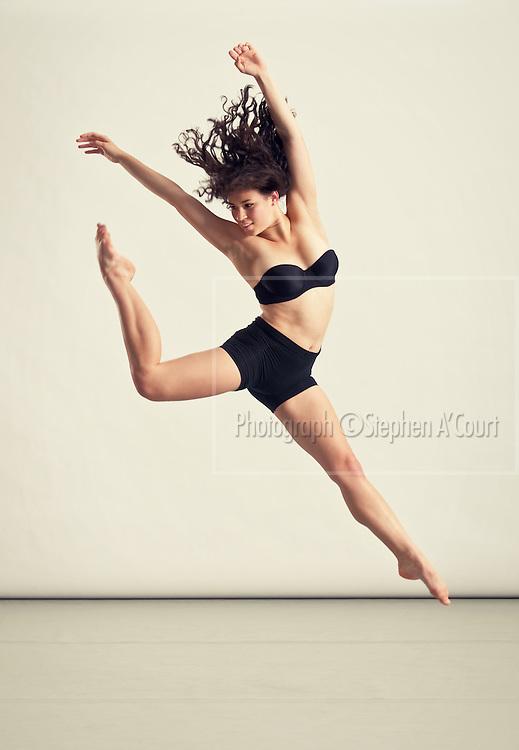 Dancer Lana Phillips