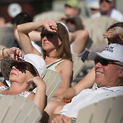 March 9, 2015, Indian Wells, California:<br /> Fans look at the draw during the WTA Draw Ceremony at the Indian Wells Tennis Garden in Indian Wells, California Monday, March 9, 2015.<br /> (Photo by Billie Weiss/BNP Paribas Open)
