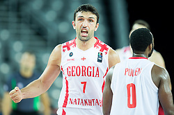 Zaza Pachulia of Georgia during basketball match between Georgia and Netherlands at Day 1 in Group C of FIBA Europe Eurobasket 2015, on September 5, 2015, in Arena Zagreb, Croatia. Photo by Vid Ponikvar / Sportida