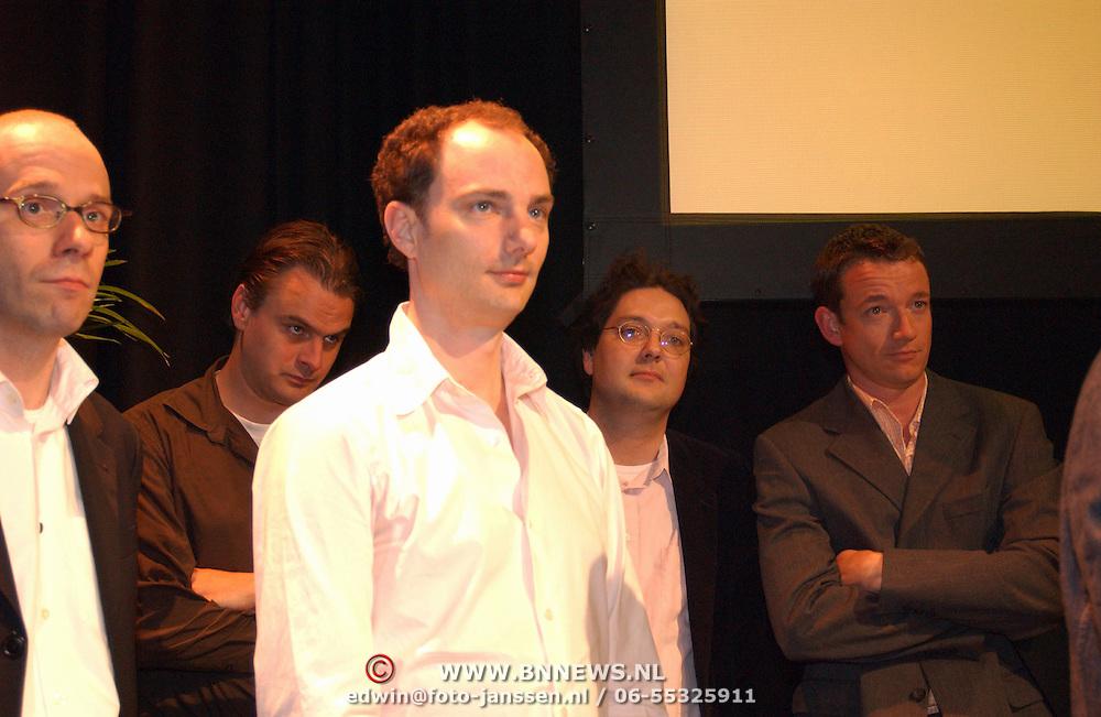 Uitreiking Nipkowschijf 2003, Spijkers met Koppen, Thomas van Luyn