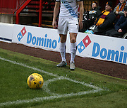 The Motherwell v Dundee match kicked off with one of the corner flags missing - Motherwell v Dundee - Ladbrokes Premiership at Fir Park<br /> <br /> <br />  - &copy; David Young - www.davidyoungphoto.co.uk - email: davidyoungphoto@gmail.com