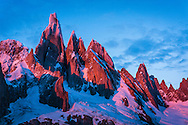 The Cerro Torre Massif