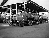 1961 - Irish Shell: Scammell Truck and tanker trailer in Dublin.
