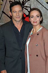 Jason Issacs & Amanda Abbington during the Crime Thriller Awards. London, United Kingdom. Thursday, 24th October 2013. Picture by Chris Joseph / i-Images