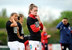 Heather Payne of Bristol City warms up- Mandatory by-line: Nizaam Jones/JMP - 28/04/2019 - FOOTBALL - Stoke Gifford Stadium - Bristol, England - Bristol City Women v West Ham United Women - FA Women's Super League 1