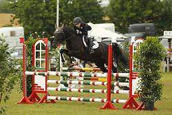Bever, Larissa, Domspringer<br /> Eutin - Dressur- und Springturnier<br /> Ponystilspringen<br /> © www.sportfotos-lafrentz.de/Stefan Lafrentz