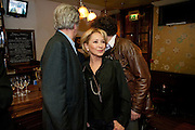 FELICITY KENDALL;  NICHOLAS LE PREVOST; JASPER BRITTON, party after the press night of 'The Last Cigarette' at  the Trafalgar Studios. Party at Walkers, Craig's Court, Whitehall. London.  28 April 2009