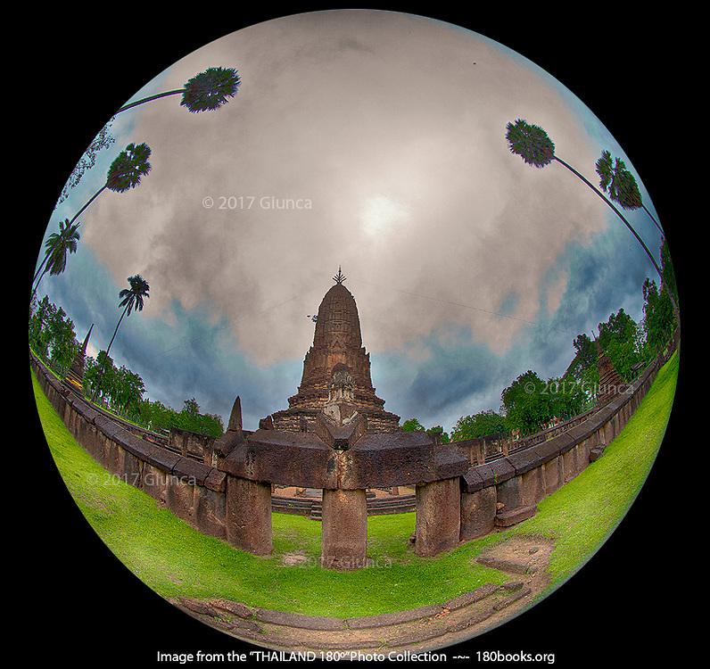 Wat Phra Si Rattana Mahathat of Cha Liang, Si Satchanalai, Sukhothai