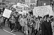CND march, Sheffield. 10-04-1982