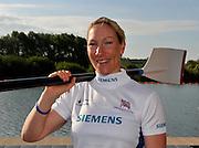 Caversham, Great Britain. GBR W1X Debbie FLOOD. GB Rowing media day, GB Rowing Training Centre, Caversham. Monday   17/05/2010 [Mandatory Credit. Peter Spurrier/Intersport Images]