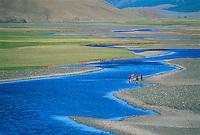 Mongolie, Province de Ovorkhangai, Vallee de l'Orkhon. // Mongolia, Ovorkhangai province, Orkhon valley.