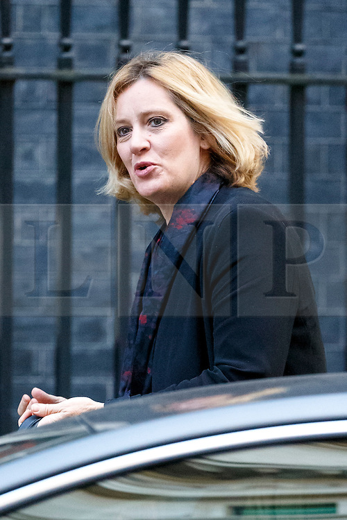 © Licensed to London News Pictures. 13/10/2015. London, UK. Energy and Climate Change Secretary AMBER RUDD attending to a cabinet meeting in Downing Street on Tuesday, 13 October 2015. Photo credit: Tolga Akmen/LNP