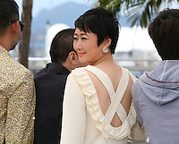 Actress Tao Zhao at the Tian Zhu Ding (A Touch Of Sin) film photocall at the Cannes Film Festival 17th May 2013