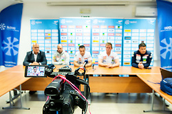Press conference of Slovenian Alpine Ski team and coaching team for new season 2019/20, on May 6th, 2019, in SZS, Ljubljana, Slovenia. Photo by Vid Ponikvar / Sportida