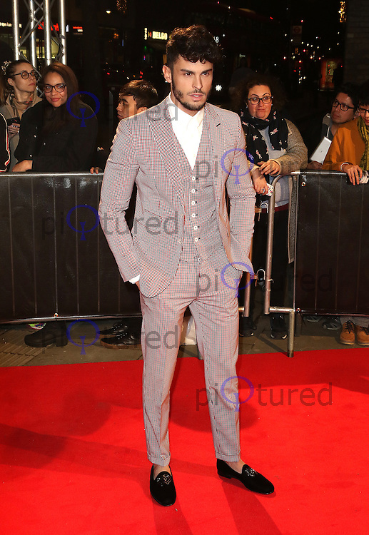 Baptiste Giabiconi, The Naked Heart Foundation's Fabulous Fund Fair, Roundhouse, London UK, 21 February 2017, Photo by Richard Goldschmidt