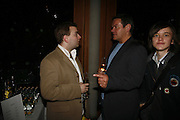 Stuart Piper and Antony Drewe, Press night for Sunday in the Park with George, Inn The Park, St james Park opp ICA. 23 May 2006. <br />