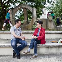 Isabelle Garo et Stathis Kouvélakis