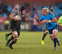PRETORIA, SOUTH AFRICA - MAY 06: Matt Todd(c) of the Crusaders in action during the Super Rugby match between Vodacom Bulls and Crusaders at Loftus Versfeld on May 06, 2017 in Pretoria, South Africa.<br /> (Photo by Anton Geyser/Gallo Images)