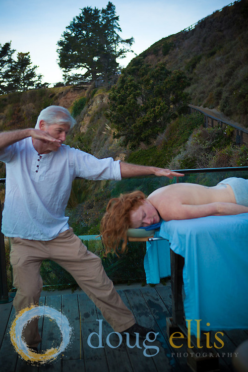 Esalen Massage Crew and Esalen massage, Big Sur CA.