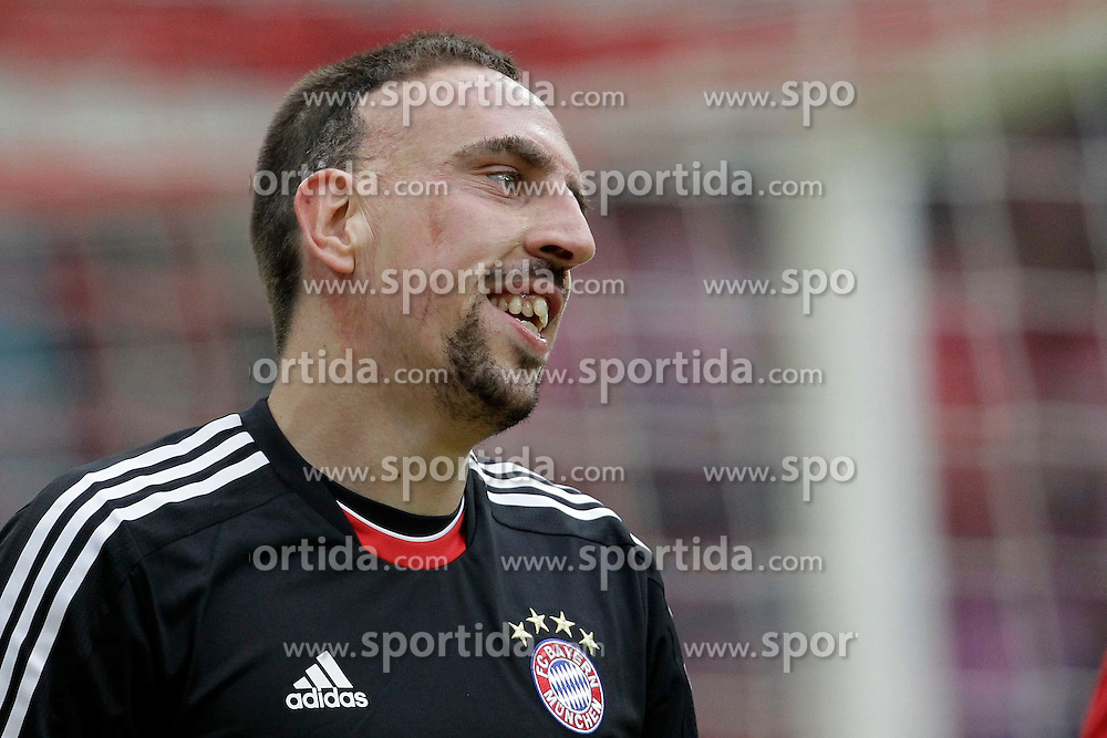 05.05.2012, Rhein Energie Stadion, Koeln, GER, 1. FC Koeln vs FC Bayern Muenchen, 34. Spieltag, im Bild Franck RIBERY (FC Bayern Muenchen - 7)Portrait // during the German Bundesliga Match, 34th Round between 1. FC Cologne and Bayern Munich at the Rhein Energie Stadium, Cologne, Germany on 2012/05/05. EXPA Pictures © 2012, PhotoCredit: EXPA/ Eibner/ Gerry Schmit..***** ATTENTION - OUT OF GER *****