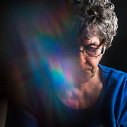 Phyllis Cline, 85, of Hanover, retired pretzel packer. Cline is struggling with the effects of age on her memory. A <br />