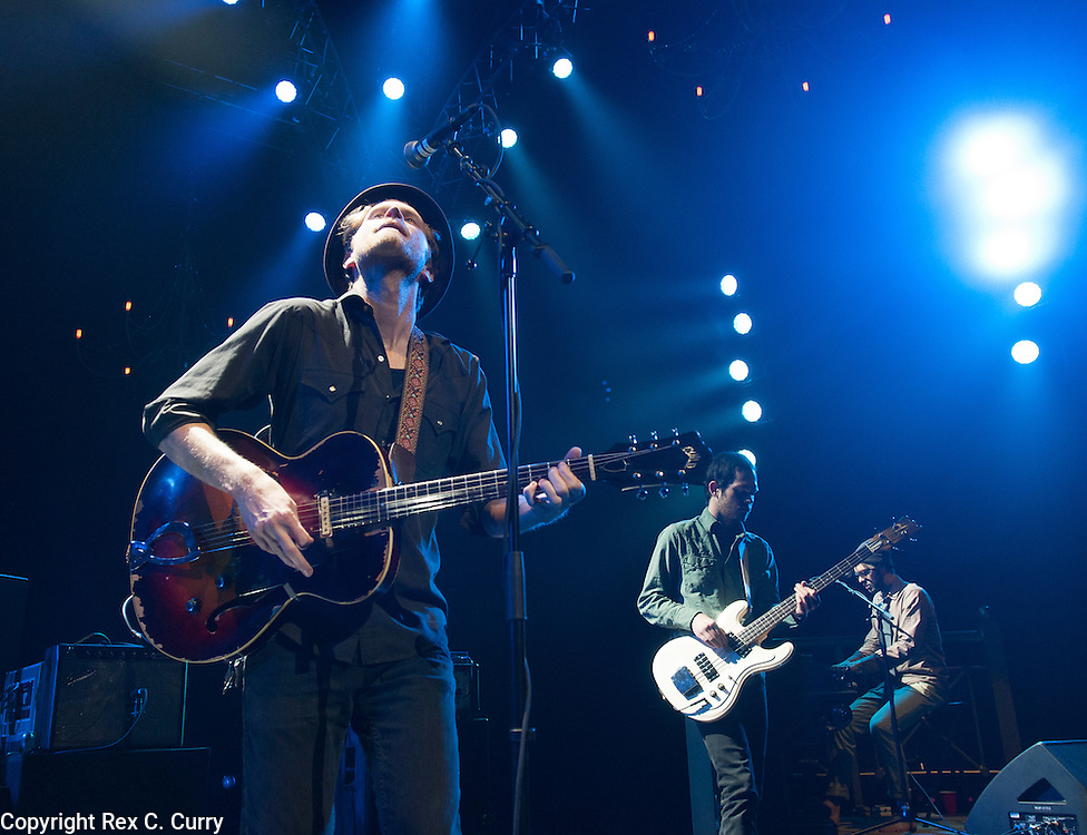 Wesley Schultz and The Lumineers perform at Verizon Theater in Grand Prairie on Thursday, April, 25, 2013....(Rex C. Curry/Special Contributor)