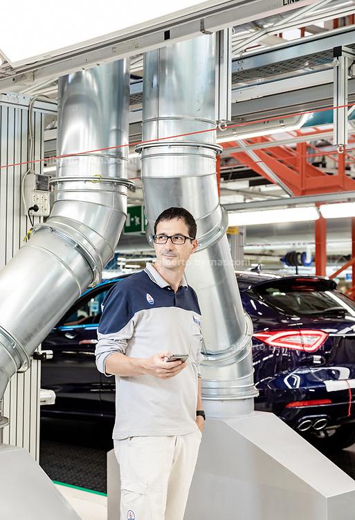 TORINO, Mirafiori, Produzione Maserati Levanto, the production chain of Maserati Levante.  Luigi Barbieri, EMEA Manufacturing Premium Brand e Mirafiori Plant Site Manager.