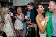 VICTORIA HART; HENRY CONWAY; LIZZIE CUNDY; BRENDAN COURTNAY. , Lost and Found Jewellery Range designed by Nick Ede.  - launch party Soho House, 19-21 Old Compton Street, London W1, 26 MAY 2009.