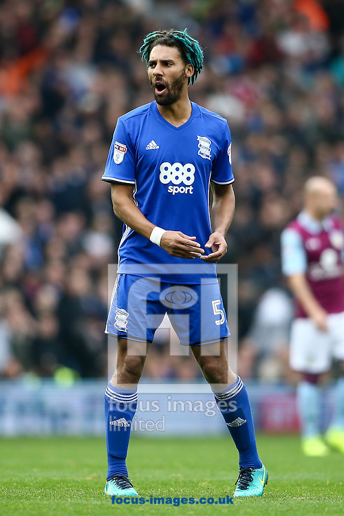 Ryan Shotton of Birmingham City during the Sky Bet Championship match at St Andrews, Birmingham<br /> Picture by Andy Kearns/Focus Images Ltd 0781 864 4264<br /> 30/10/2016