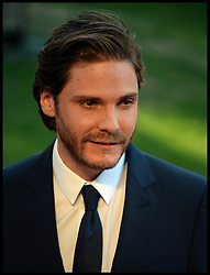 Rush - UK film premiere. <br /> Actor Daniel Bruhl  during the 'Rush' - UK film premiere, Odeon, London, United Kingdom. Monday, 2nd September 2013. Picture by Andrew Parsons / i-Images