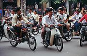 Motorcycle rushhour.