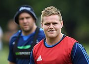 Nic Mayhew during a Blues Super Rugby pre season training session at Victoria Park in Auckland, New Zealand. Friday 4 December 2015. Copyright Photo: Andrew Cornaga / www.Photosport.nz