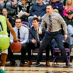 Carroll rallies to defeat Providence 72-67 Saturday in Helena. Carroll's coach Kurt Paulson disagrees with call on the court.