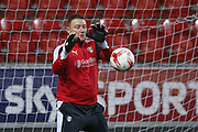 Rotherham United goalkeeper Paddy Kenny (30)   during the Sky Bet Championship match between Rotherham United and Middlesbrough at the New York Stadium, Rotherham, England on 8 March 2016. Photo by Simon Davies.