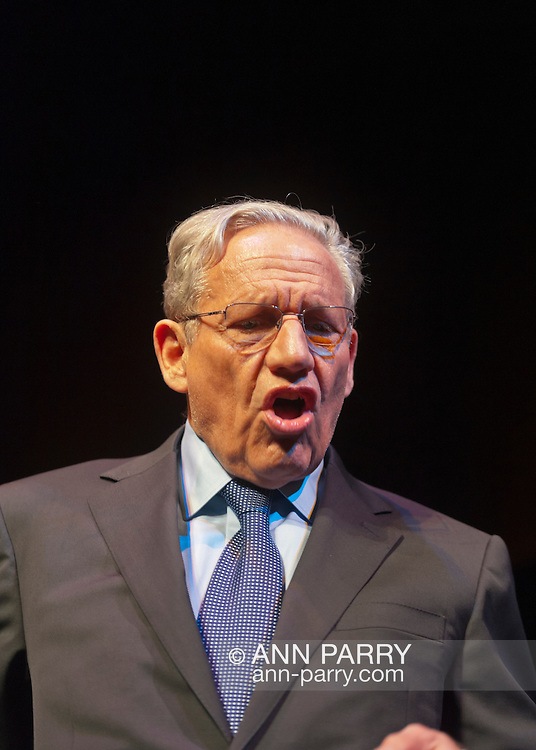 March 20, 2012 - Hempstead, New York, U.S. - BOB WOODWARD, investigative journalist, speaks on 40th Anniversary of the Watergate political scandal, at Hofstra University.