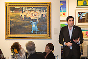Dinner reception at George Rodrigue Gallery for the National Assembly of State Arts Agencies (NASAA)