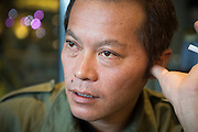 Tetsuya Hayashi, 43, jobbade med uppr&ouml;jningsarbetet p&aring; k&auml;rnkraftverket Daiichi, Fukushima, Japan.<br /> <br /> Fukushima plant worker Tetsuya Hayashi says he was hired to survey radiation levels in the field in 2012, but was instead sent to do maintenance work on a radiation treatment machine on his first day at work. He was not aware that the radiation exposure was high enough to burn through his yearly exposure allowance in just 20 minutes. When he complained to his employer, the TEPCO subcontractor RH Kougyou, he was fired. He has filed a complaint to the Ministry of Labour, who has failed to respond in over a year.<br /> The workers at the Fukushima Daiichi Nuclear Power Plant have some of the world's most dangerous jobs for as little as 100 dollars a day.