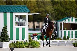 Susanne Jensby Sunesen, (DEN), Thy's Que Faire - Freestyle Test Grade III Para Dressage - Alltech FEI World Equestrian Games™ 2014 - Normandy, France.<br /> © Hippo Foto Team - Leanjo de Koster<br /> 25/06/14