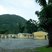 JULY 20, 2018---YABUCOA, PUERTO RICO----<br /> Community School Jaime C. Rodriguez in Yabucoa, still under reconstruction months after the path of Hurricane Maria through the town.<br /> (Photo by Angel Valentin/Freelance)